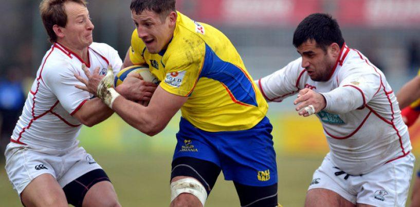 """Succes al """"stejarilor"""". România a învins Germania cu 61-7, la rugby, în CEN 2016"""