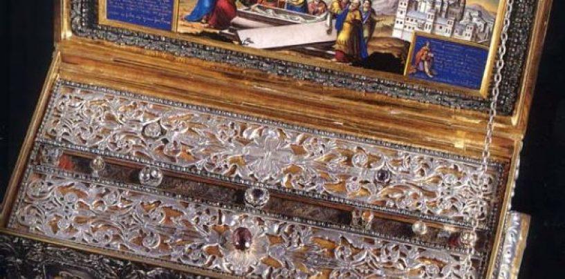 Brâul Maicii Domnului, adus la Catedrala mitropolitană din Sibiu, de la Mănăstirea Kato Xenia (Grecia)