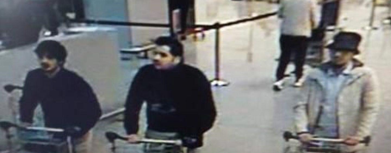 Presa belgiana difuzeaza imagini cu suspectii atentatului de la aeroportul din Bruxelles
