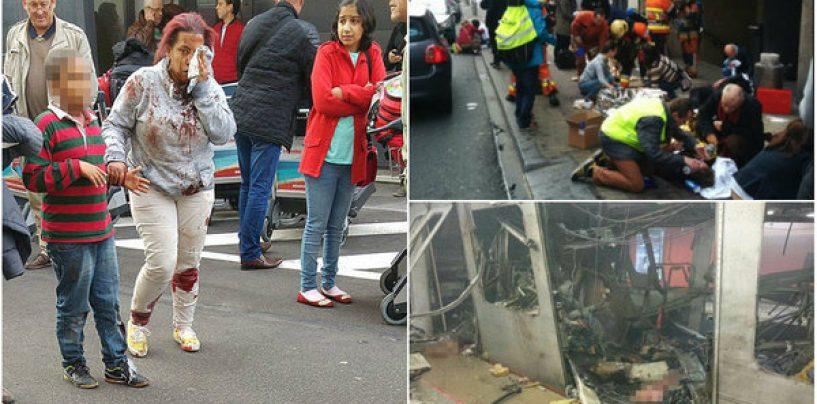 Miracol. O româncă şi fetiţa ei de 2 ani, singurele supravieţuitoare din vagonul de metrou care a explodat la Bruxelles