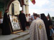 Icoana Maicii Domnului de la Mitropolia Clujului, adusă la Bucureşti