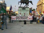 Se pregăteşte miting anti-moschee în faţa Palatului Cotroceni. Se va cere şi demisia lui Iohannis