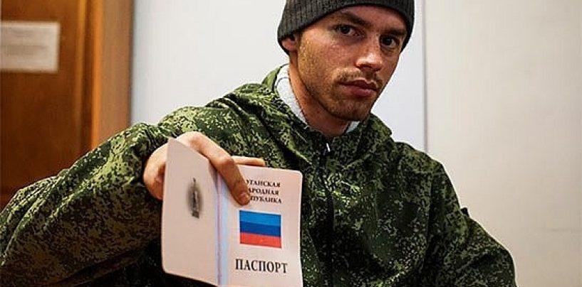Separatiştii din estul Ucrainei au distribuit primele pașapoarte ale 'Republicii Populare Donețk'