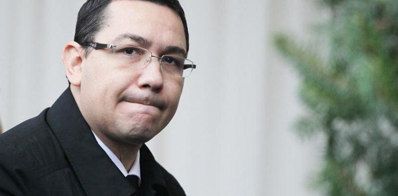 Ponta nu recunoaşte faptele de care este acuzat în dosarul Turceni-Rovinari