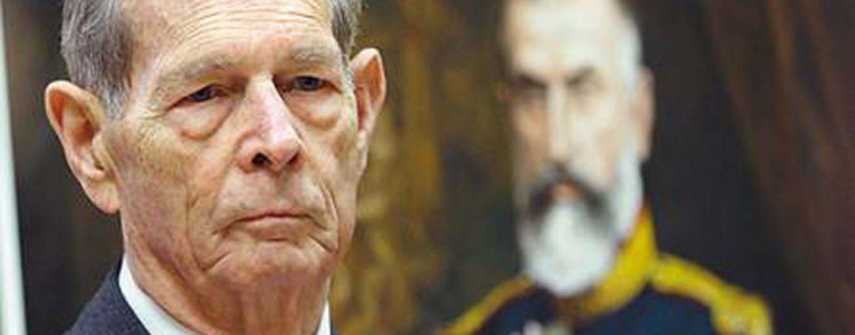 Regele Mihai este dator ANAF-ului