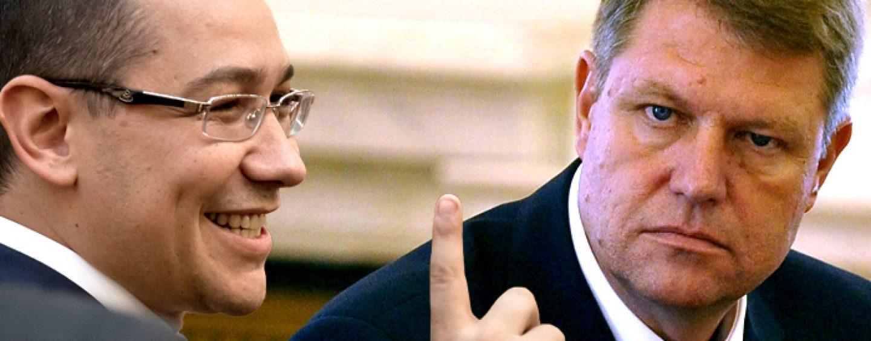 Victor Ponta: DNA ar trebui sa inceapa urmarirea penala a lui Klaus Iohannis pentru conflict de interese
