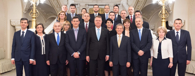 Remaniere masiva in Guvern: Patru ministri, zburati, dintr-un foc, din structura Executivului Ciolos