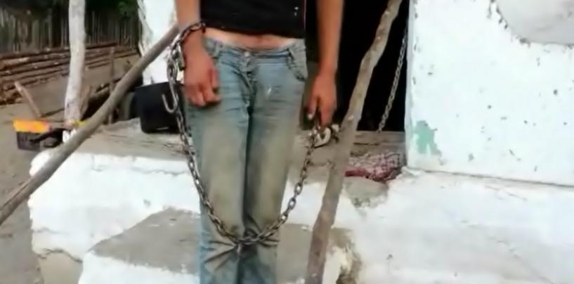 10 ani de sclavie. O retea de trafic de persoane a fost destructurata. Tineri si minori rapiti de pe strada, tinuti in lanturi