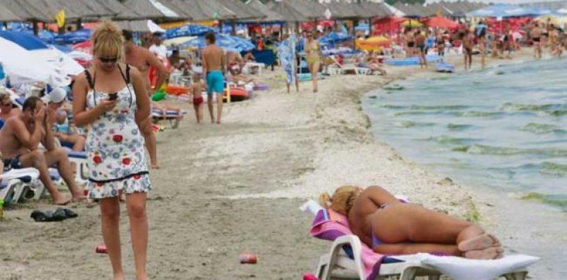FPTR: La mare, ultimul weekend din august, la fel de aglomerat, ca în plin sezon