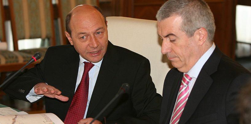 Ce bine se înțeleg, în ultima perioadă, Traian Băsescu și Călin Popescu Tăriceanu