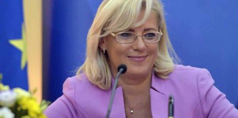 Comisarul european, Corina Crețu: România are fonduri UE, absorție zero, până acum