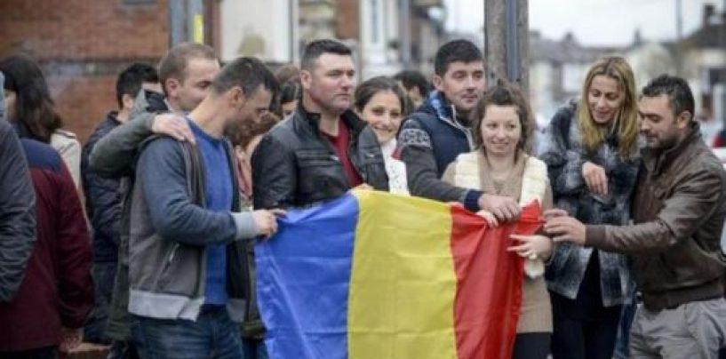 Manifestări anti-românești, în UK: De ce mai sunteți aici? Plecați dracului acasă. Asta am votat!