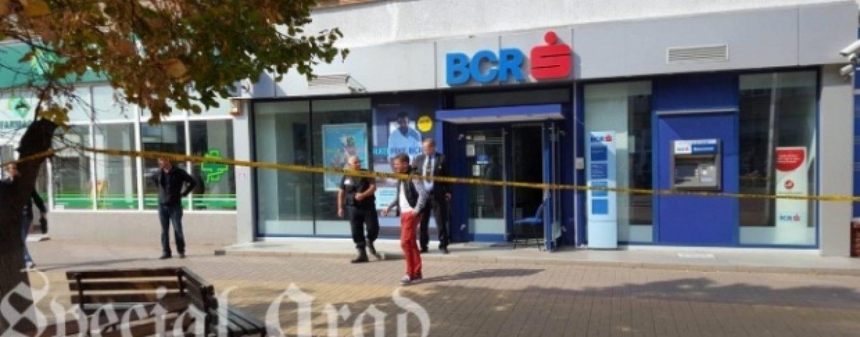 Jaf armat la o banca din Arad