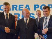 Traian Băsescu, primul pe lista PMP pentru Senat, la București