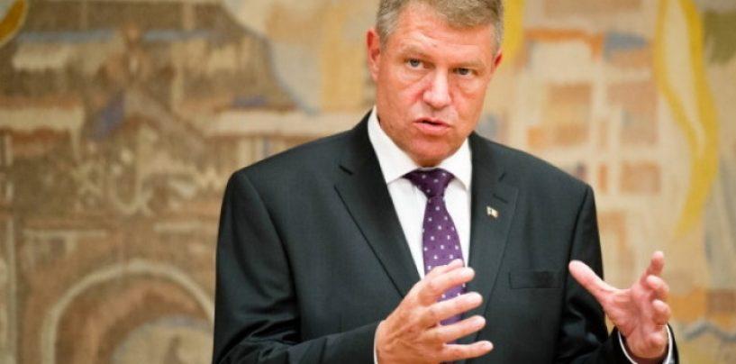 Klaus Iohannis despre Tariceanu: Cu acest individ ne-am lamurit