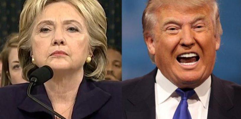 Surpriză în alegerile din SUA: Donald Trump, aproape președinte. Update: Hilary Clinton și-a recunoscut înfrângerea