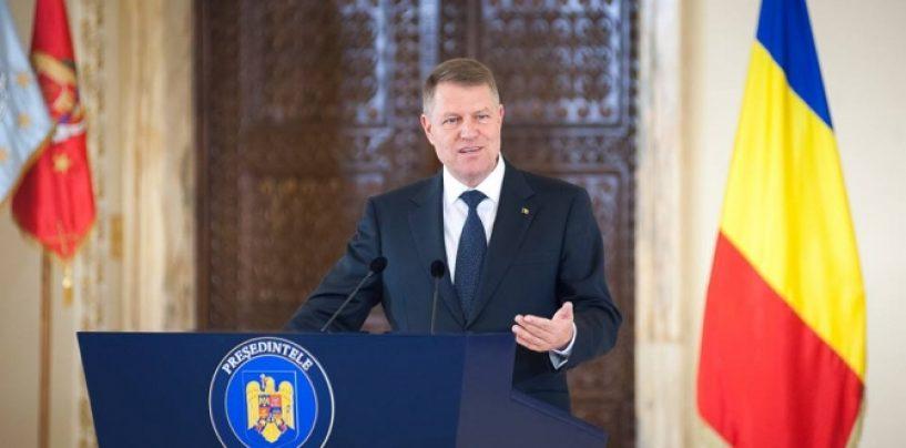 Președintele Klaus Iohannis: Îi îndemn pe români să iasă la vot. Nu trebuie să decidă alții pentru voi