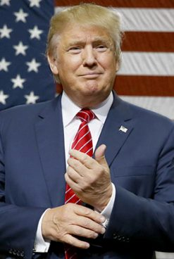 Exact ca-n România. Donald Trump: Ce vor manifestanții? Nu au fost alegeri?