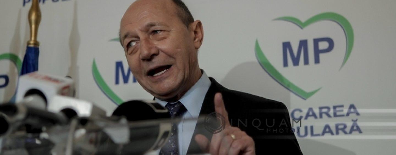 Traian Băsescu: În războiul dintre politicieni și procurori, nimeni nu câștigă