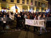 Unul dintre organizatorii mitingurilor atrage atenția asupra derapajelor: secesionism, alegeri anticipate