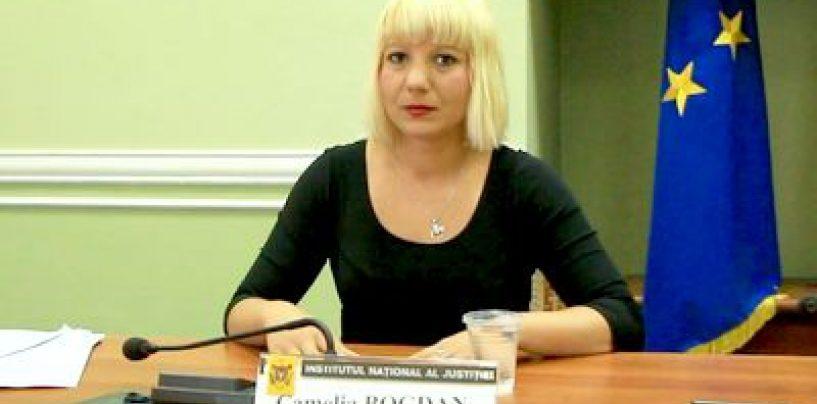 Camelia Bogdan, reprimită în magistratură şi mutată şase luni la Curtea de Apel Târgu Mureş