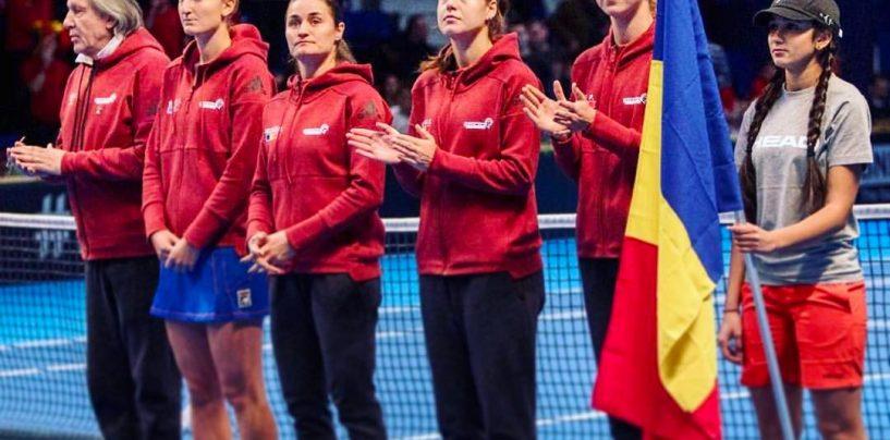 România – Marea Britanie, în barajul pentru Grupa Mondială II a Fed Cup