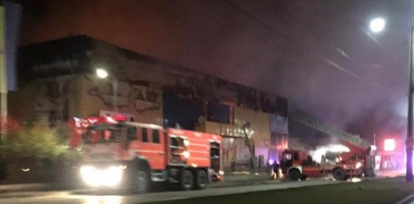 Incendiu la un Mall al familiei jucătorului George Țucudean