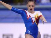 Gimnasta Larisa iordache a obținut două podiumuri la Sainte Gym Cup