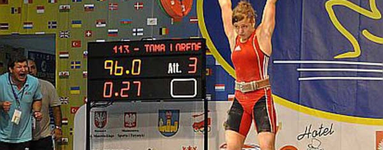 Loredana Toma a cucerit trei medalii de aur la Europenele din Croația