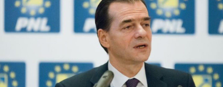 Ludovic Orban, spectacol la depunerea candidaturii pentru presedintia PNL. Hava si Bolojan, greii din tabara lui