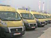 Guvernul României a donat 96 de microbuze pentru elevii din Republica Moldova