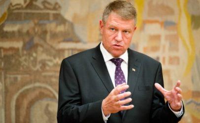 Klaus Iohannis: Voi numi un premier integru, fara probleme penale. Anticipatele inseamna o criza profunda