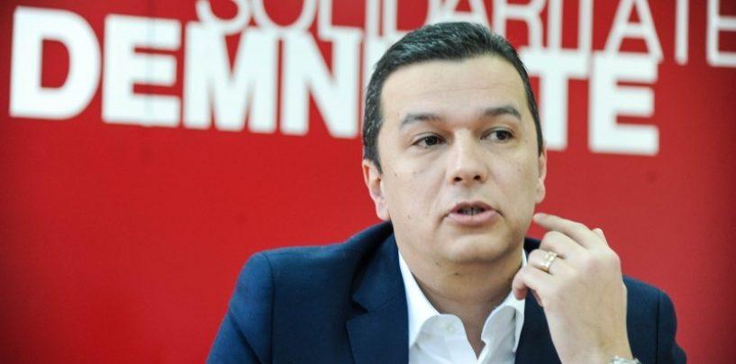 Sorin Grindeanu către Liviu Dragnea: Există riscul ca PSD să piardă guvernarea