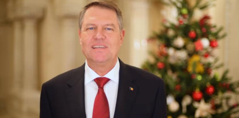 Mesajul președintelui Iohannis de Crăciun: Sărbătoarea Nașterii Domnului este un îndemn la compasiune și solidaritate