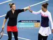 Halep și Begu au câștigat turneul de dublu de la Shenzhen