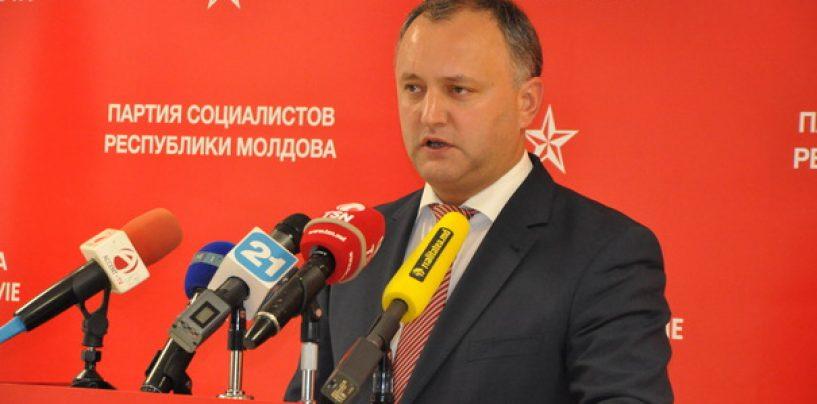 Socialiștii lui Dodon au încercat să obțină condamnarea declarației României referitoare la Centenar