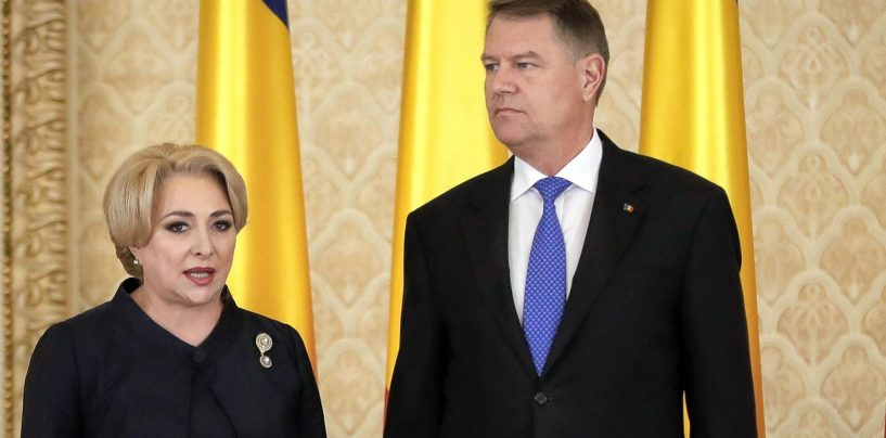 Presedintele Klaus Iohannis cere demisia premierului  Dancila