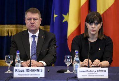 Președintele Klaus Iohannis, obligat de Curtea Constituțională, să o demită pe Laura Codruța Kovesi