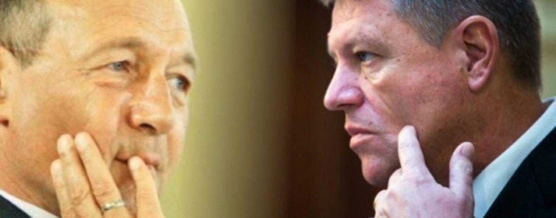 Traian Băsescu: Singura șansă de supraviețuire a lui Klaus Iohannis este referendumul