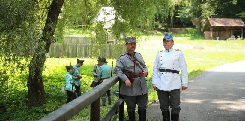 Satul din timpul Primului Război Mondial. Centenarul Marii Uniri, la Muzeu Astra.