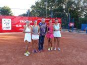 Favoritele Ioana Roșca și Cristina Ene au câștigat finala de la ITF Arad