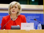 Disperarea comisarul european, Corina Crețu: Nu accept insultele venite din partea Guvernului României