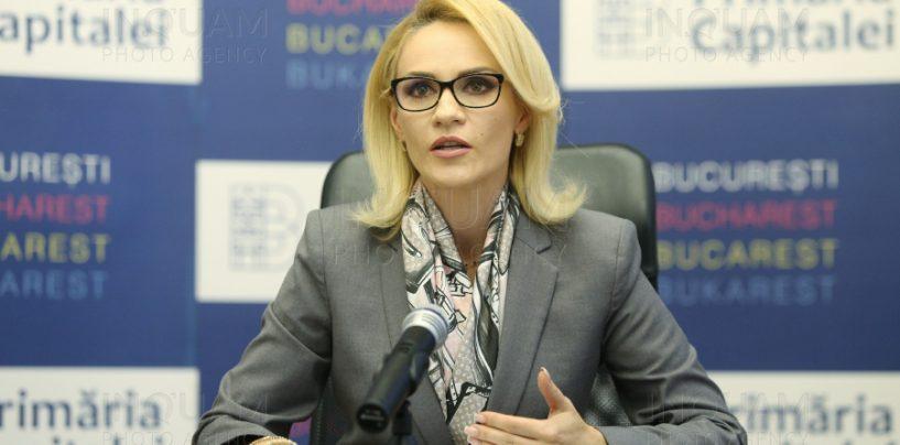 Gabriela Firea și-a depus demisia din funcția de președinte PSD București