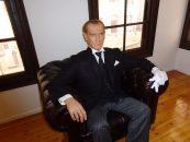 La comemorarea lui Mustafa Kemal Ataturk, părintele Turciei moderne