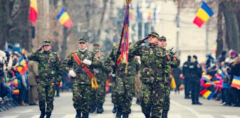 O dată la 100 de ani! Paradă militară de Ziua Centenarului Marii Uniri. La mulți ani, România!