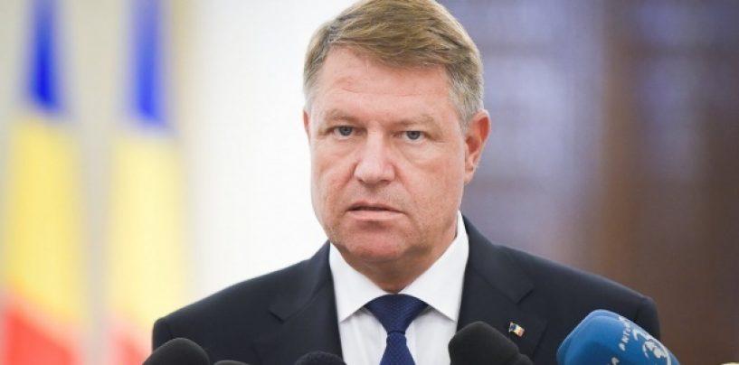 Klaus Iohannis: M-am săturat de atâția penali și infractori în fruntea țării