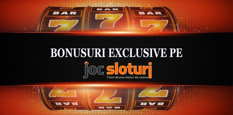 Sloturi casino online cu bonusuri exclusive