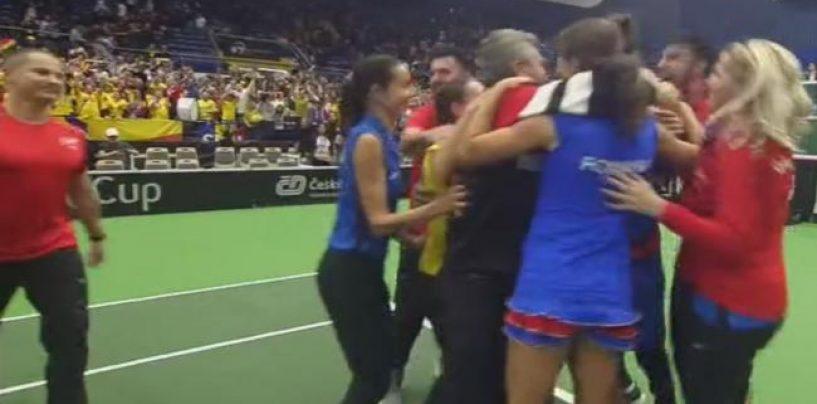 În semifinale la FedCup! România învinge dramatic Cehia