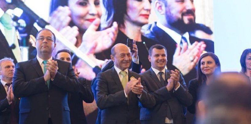 PMP îl cere pe Traian Băsescu în fruntea listei pentru europarlamentare