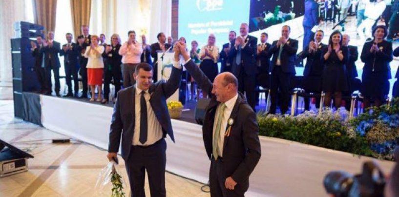 Traian Băsescu, în fruntea listei PMP pentru europarlamentare